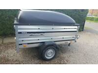 Car trailer Brenderup 1205/used 2 years old.