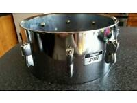 Yamaha steel snare drum shell