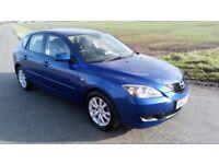 £1350 2007 Mazda 3 ts2 sat nav 1.6 petrol manual