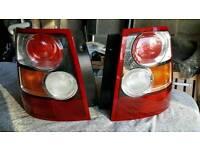 Range Rover sport rear lights