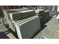 Free to collect. Paving slabs