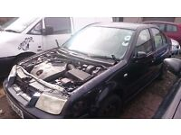 2001 VOLKSWAGEN BORA, 1.9 STDI, BREAKING FOR PARTS ONLY, POSTAGE AVAILABLE NATIONWIDE