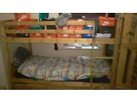 Bunk bed with 3rd bed no mattress