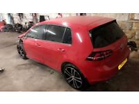 VW GOLF GTD FULLY LOADED, LOW MILEAGE, HEATED LEATHER, DSG, DYNAUDIO, FULL VW HISTORY, MINOR DAMAGE