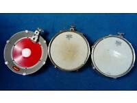 3 Ddrum cast iron midi drum pads