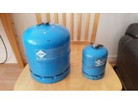 Camping Gaz Large & Small Gas Cylinders