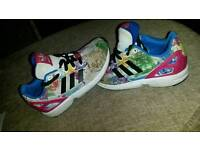 Girls adidas trainers WORN ONCE