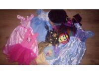 Fancy dress bundle 3-6 years