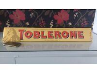 4.5 kg bar of toblerone