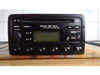 RDS ford cd car radio with code