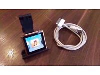 Apple iPod nano 8GB - Gold - 6th Generation - Unboxed.