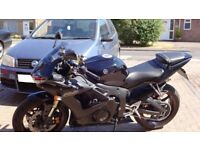 Yamaha R6. Great Bike. A few scratches. Recently Serviced and MoT.
