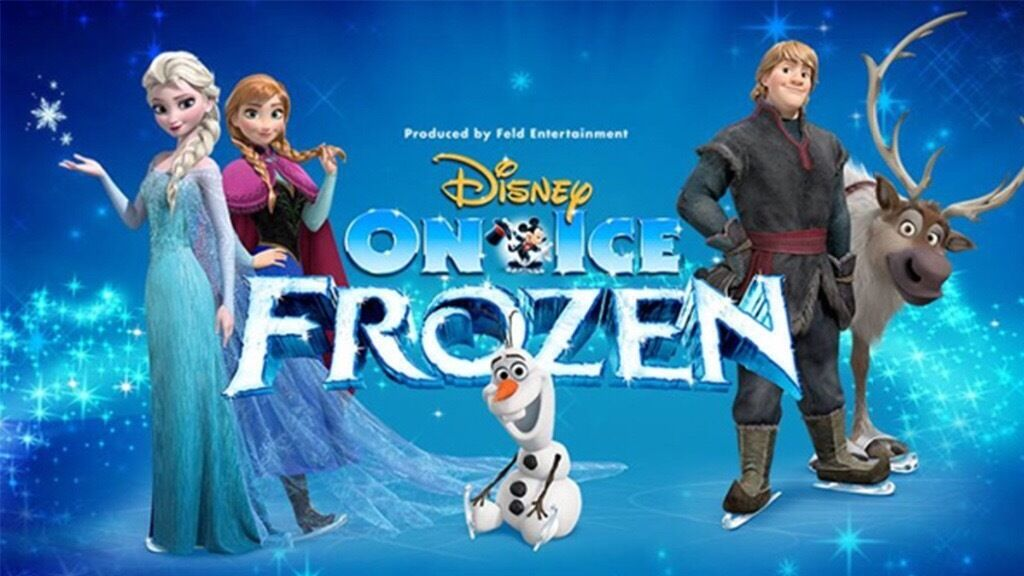 Frozen on Ice, Birmingham Barclaycard Arena, Sat 29th October, 2.30pm, lower tier seats x2