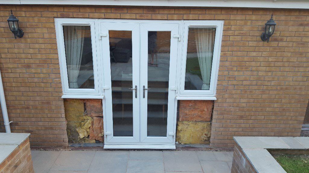 White Upvc French Doors And Windows For Sale In Coventry West