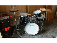 Drum kit junior 7 piece used