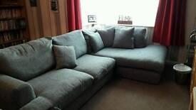 Next Large grey corner sofa