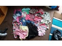 Bundle of clothes 26 items 4-6 years