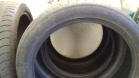 2 x bmw x6 part worn tyres