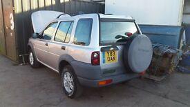land rover freelander 1.8 petrol breaking all parts spares
