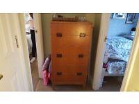 Vintage Retro Chest of Drawers 6 Drawers Dresser Side Board Sideboard