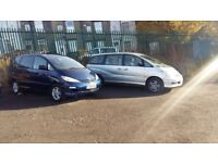 2005 Toyota previa 2.0 D4D diesel 7/8 seater**choice of two**