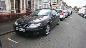 2007 Saab 9-3 Vector 1.8 Turbo Convertible, Automatic, Low Mileage