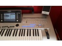 Yamaha Tyros 4 & Full speaker pack + Expanded memory All Excellent Condition