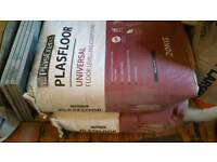 2x20kg bags of plasfloor universal self levelling compound.
