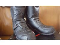 Alpinestars Leather Motorcycle Boots - size 5