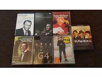 7 Legendary DVD's