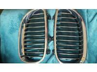 Bmw e60 e61 original chrome grills