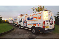 Mobile Tyre Fitter required to fit tyres/Wheel Alignment excellent rates of pay. 25+yrs old only
