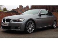 "BMW 3 Series 2.0 320i M Sport 2dr. Full BMW Service History. Full M Sport. 19"" Alloys. Leather Int"