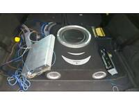 Car Subwoofer set for sale