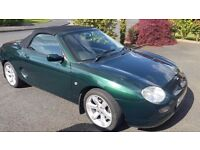 MGF 1.8i 2001 Petrol 44500 genuine miles. Mot'd to July