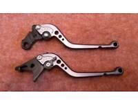 Motor bike brake cluth levers