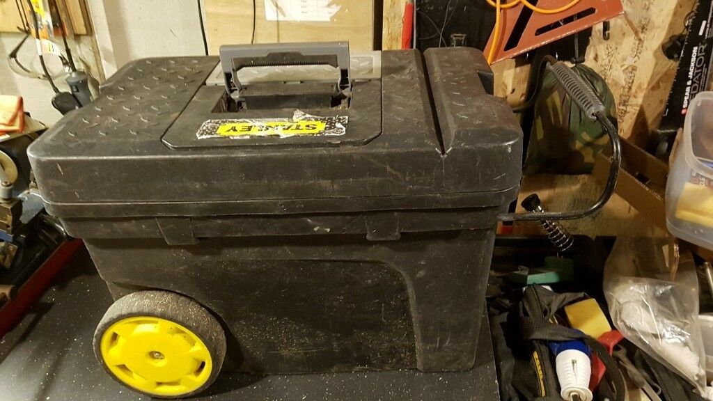 STANLEY Mobile Tool Box Chest On Wheels Portable Storage | in Moortown,  West Yorkshire | Gumtree