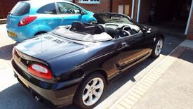 2004 MG TF 135 CONVERTIBLE BLACK HALF LEATHER (Cam belt and head gasket done )