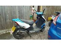 2015 2 stroke moped