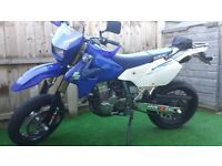 SUSUKI DRZ 400SM GREAT BIKE NEED A SALE MAKE AN RESPECTABLE OFFER