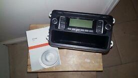 VW RCD 210 Radio/CD head unit