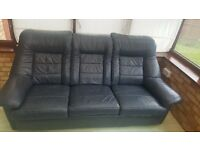 3-seater sofa, armchair 2 footstools. Good condition!
