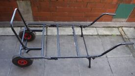 Large fishing barrow cheap carp tackle porter trolley