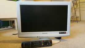 Panasonic TV HD Ready with Freeview.
