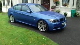 BMW 330D MSPORT INDIVIDUAL BLUE FULL SERVICE HISTORY WITH SWAP RECOVERY LORRY OR CAR VAN