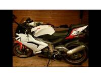 Rs 125 not yzf 125r cbr 125 moped aprillia derby