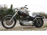 Harley Davidson Softail. Stage 1, 36K miles, 1450 Fuel injected Twin Cam, MOT 10/04/2018