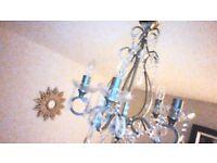 Laura Ashley shamley gold chandalier