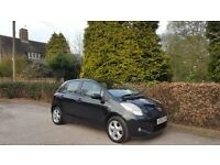 2007 TOYOTA YARIS 1.4 AUTO 5 DOOR NATIONWIDE DELIVERY CREDIT CARD FACILITY GURANTEED £200 PX VALUE
