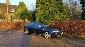 2002 AUDI S3 2.0 TURBO 225 BHP BAM NATIONWIDE DELIVERY-CARD FACILITY-3/6/12 MONTHS WARRANTIES